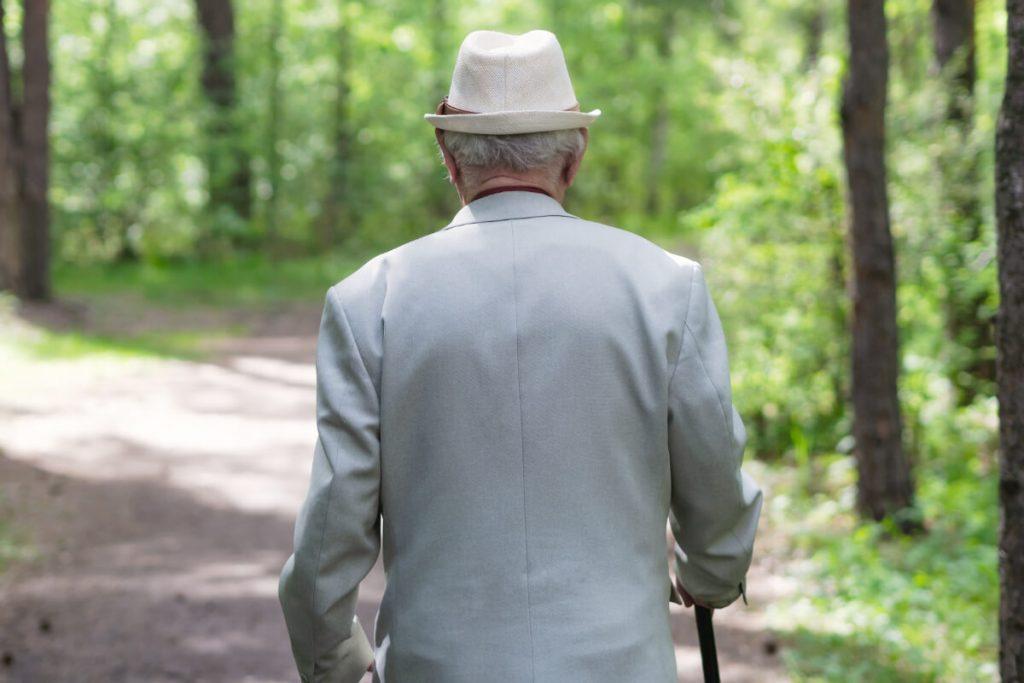 Starszy mężczyzna. Czy potrafisz być uczciwy wobec siebie